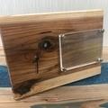 レジンで作った木加工品